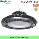 Capteur de mouvement de micro-ondes Warehouse UFO lumière LED High Bay 150W