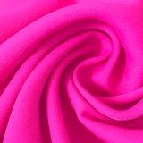 75D*75D Élevé-A tordu la mousseline de soie en soie imitée de polyester pour des vêtements