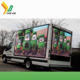 Affichage LED solaire Publicité chariot