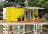 20 футов сегменте панельного домостроения обставлены изменения транспортировочный контейнер дома