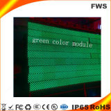 Cor Single-Green SMD LED no interior do módulo do Mostrador