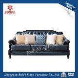 Американский стиль кожаный диван (N340)