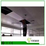 Тонкий круглый/квадратный свет инженерства решетки панели потолка СИД вниз врезанный 300*600*600*1200
