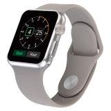 Para Apple Reloj de silicona de la banda de 38mm/42mm, la banda de silicona para Apple ver deporte correa
