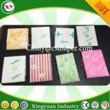 Las mujeres toalla sanitaria PE película de materia prima de silicona
