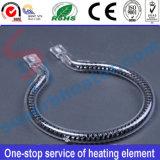 Câmara de ar do aquecimento de quartzo da fibra do carbono para o forno elétrico