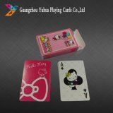 La publicité personnalisée de cartes à jouer cartes à jouer en plastique
