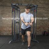 Addestratore funzionale della puleggia registrabile doppia dell'addestratore della macchina di esercitazione di concentrazione della costruzione di corpo