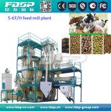 養鶏場(SKJZ5800)のための専門の製造者4t/Hの小さい製造工場