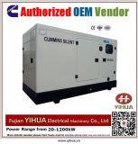Générateur diesel actionné par Cummins20-100kw, 20170620A