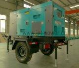 50квт Silent дизельного генератора мощности генератора звуконепроницаемых с прицепом