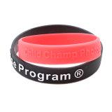 Drapeau personnalisé Bracelet Bracelet en caoutchouc de silicone Fabricant de bracelet en silicone/Bande de poignet/Bangles votre propre logo personnalisé