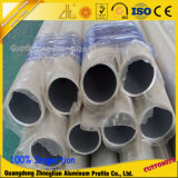 barre en aluminium d'aluminium de tube anodisée par 6063t5/pipe