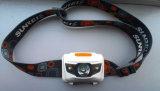 손 자유로운 스위치 자유 운동 센서 1W LED Headlamp
