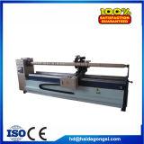 máquina textil para cortar tiras de cuero