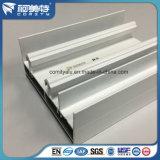 Weißes Puder, das Profil des Aluminium-6063 für Fenster-doppelte Spur beschichtet