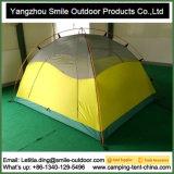 3-4 barraca de acampamento barata da abóbada das camadas dobro dos preços das pessoas