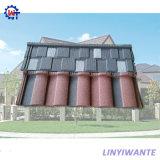 Mediterrean様式の耐久のローマの石の上塗を施してある金属の屋根瓦