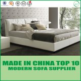 Het moderne Nieuwe Bed Ontwerp In entrepot van het Leer