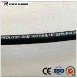 SAE J517 type100 de l'huile hydraulique haute pression flexible en caoutchouc