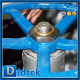 Didtek fuera de la válvula de globo empernada Wcb del capo del tornillo