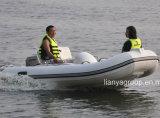Canot gonflable de console centrale de bateau de Liya 11feet avec le moteur