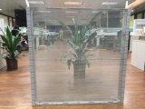 Cubierta transparente de vidrio de color de pantalla de LED