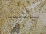 Telha amarela dourada do granito de China para a decoração do edifício