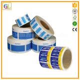 Impresión profesional de la etiqueta engomada y de la escritura de la etiqueta de la alta calidad