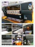 Melhor qualidade de impressão por sublimação de roupa grande Impressora Digital de tinta para Polyesters