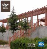 Размер индивидуального открытый/сад WPC Композитный пластик из светлого дерева Пергола