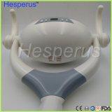 Shadelessランプアームインプラント外科ランプが付いているセンサーの口頭軽いランプが付いている9つのLEDsの歯科ランプ