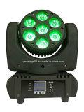 7X12W LED Träger-bewegliche Hauptereignis-Stadiums-Beleuchtung