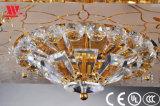 ガラスドレッシングが付いている水晶天井ランプ