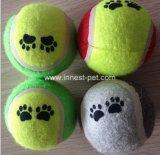 Kauwt de Duurzame Hond van de Levering van het Huisdier van China Stuk speelgoed, de Bal van het Tennis van het Huisdier