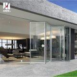 Deutschland-Befestigungsteil-Aluminiumfalz-Tür mit niedrigem e-Glas