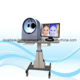 Cuir numérique Flexometer douceur Testeur de la peau polarisant Analyseur UV