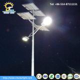 Solarstraßenbeleuchtung des Soncap Bescheinigungs-Doppelt-60W des Quellled