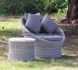 Presidenze esterne del sofà del giardino di svago del singolo del sofà di Outsunny sofà del rattan