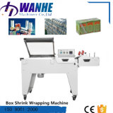 Machine automatique d'emballage en papier rétrécissable de la chaleur pour des bouteilles de boissons de bidons de tissu