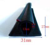 Striscia di gomma del sigillo alla porta della guarnizione della gomma spugnosa nel formato su ordinazione