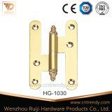 H datilografa a dobradiça de porta de bronze removível com cabeça lisa (HG-1031)
