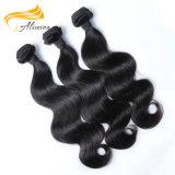 Фабрика сразу линяя свободно индийский уток волос объемной волны