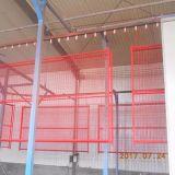 Construção de malha de arame temporária galvanizado Painel da Barragem
