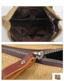 Sacchetto di spalla pesante di Repellen dell'acqua del calcolatore della borsa del computer portatile della tela di canapa dell'uomo (RS-8571B)