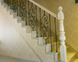 装飾用の装飾的な住宅の錬鉄階段