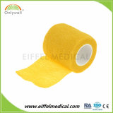 Non-Woven綿は伸縮性がある包帯の凝集の覆いの包帯を遊ばす