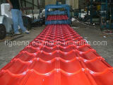 Mattonelle di tetto rivestite del metallo dello strato PPGI/PPGL del tetto dello zinco dell'ondulazione