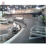 Matériau aluminium étapes simples et modernes pour les concerts