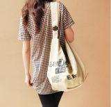Sac d'emballage de sac à main de sac d'épaule de quatre de couleurs femmes de toile